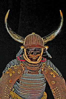 Oda Photograph - Mask Samurai.  by Andy Za