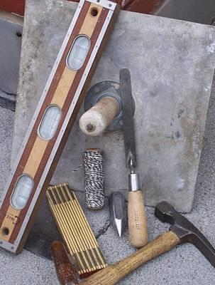 Photograph - Masonery Tools by Lila Mattison