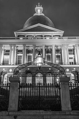 Photograph - Massachusetts State House by John McGraw