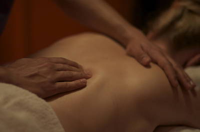 Massage Photograph - Massage by Andrew Hunt