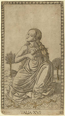 Master Of The E-series Tarocchi Italian Print by Quint Lox
