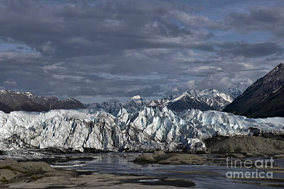 Photograph - Matanuska Glacier Alaska by David Arment