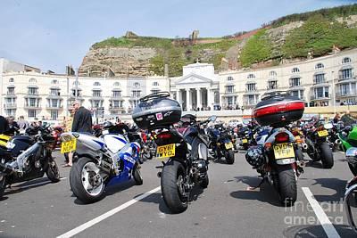 Animal Surreal - May Day bikers rally Hastings by David Fowler