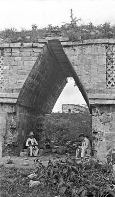 Mayan Photograph - Mayan Ruins by American Philosophical Society