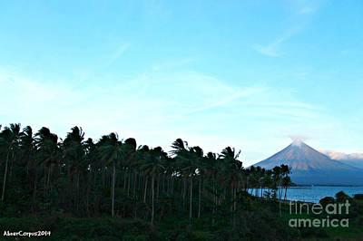 Mayon Volcano Photograph - Mayon Volcano by Abner Corpus