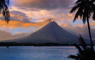 Mayon Photograph - Mayon Volcano Near Legazpi City - by Per-Andre Hoffmann