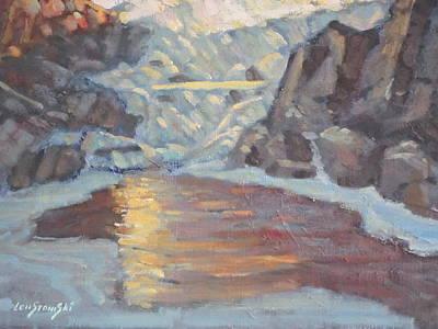 Painting - Mcdonald Falls by Len Stomski