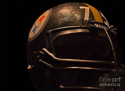 Steelers Photograph - Mean Joe's Helmut by Mark Ali