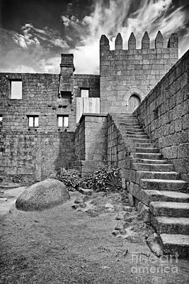 Staircase Photograph - Medieval Castle Interior by Jose Elias - Sofia Pereira