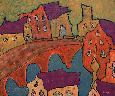 Painting - Medieval by Oscar Penalber