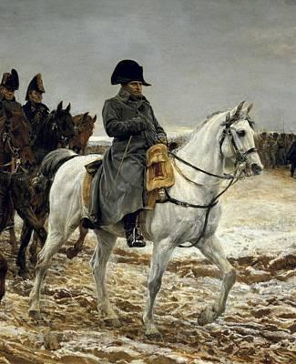 Meissonier, Ernest 1815-1891. Napoleon Art Print