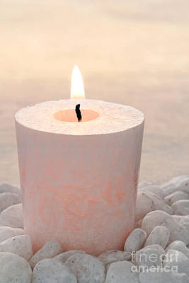 Photograph - Memorial Candle by Olivier Le Queinec