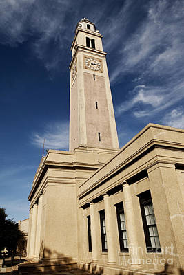 Louisiana State University Photograph - Memorial Tower - Lsu by Scott Pellegrin