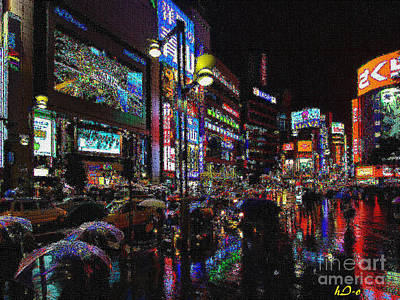 Citylife Digital Art - Memories Of Lights by Ha Imako
