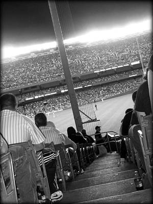 Yankees Photograph - Memories Of The House That Ruth Built by Aurelio Zucco