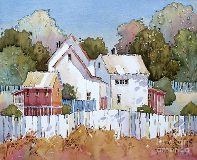 Mendocino California Coast Painting - Mendocino Moment by Joyce Hicks