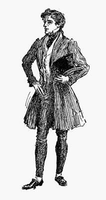Beaver Drawing - Men's Fashion by Granger