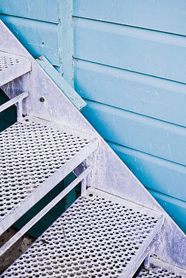 New Perspectives Photograph - Metal Stairs by Tom Gowanlock