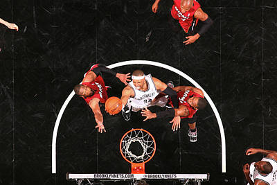 Photograph - Miami Heat V Brooklyn Nets - Game Four by Nathaniel S. Butler
