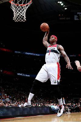 Photograph - Miami Heat V Washington Wizards by Ned Dishman