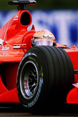 Michael Schumacher Photograph - Michael Schumacher by Srdjan Petrovic