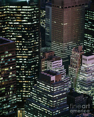 Midtown Manhattan Art Print by Rafael Macia