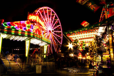 Photograph - Midway Attractions by Mark Andrew Thomas