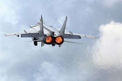 Photograph - Mig-31bm Interceptor Of The Russian Air by Artyom Anikeev