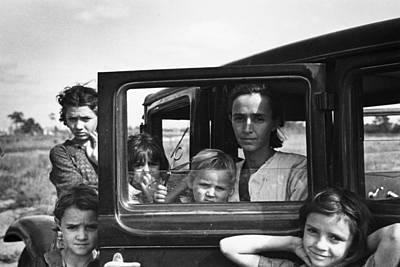 Migrant Family, 1937 Art Print
