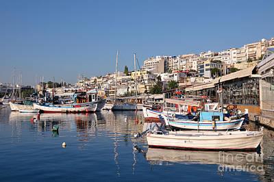 Sailing Photograph - Mikrolimano Port by George Atsametakis