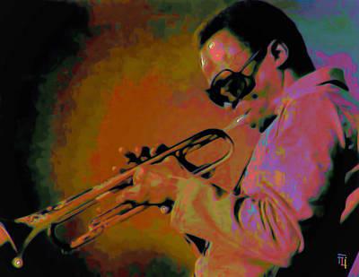 Trumpet Digital Art - Miles Davis by  Fli Art