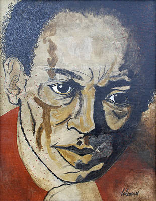 Grammy Winners Painting - Miles Davis by Dave Coleman
