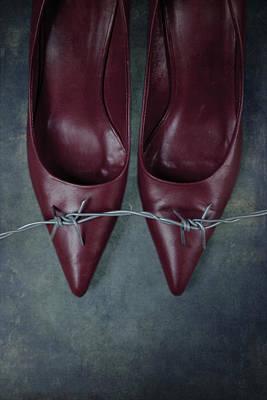 Mind Your Steps Print by Joana Kruse