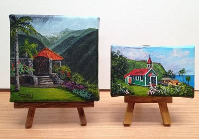 Painting - Miniatures by Darice Machel McGuire