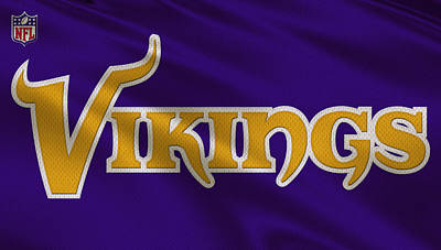 Vikings Photograph - Minnesota Vikings Uniform by Joe Hamilton