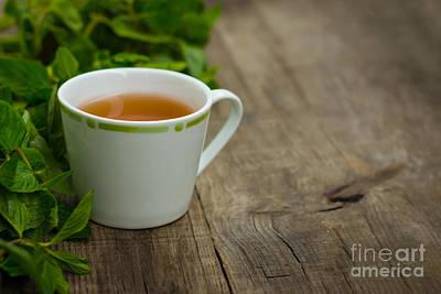 Peppermint Photograph - Mint Tea by Aged Pixel