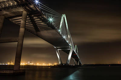 Photograph - 2 Minutes Under The Ravenel by Walt  Baker