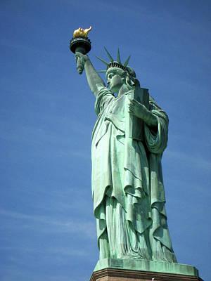 Photograph - Miss Liberty by Paul Mashburn