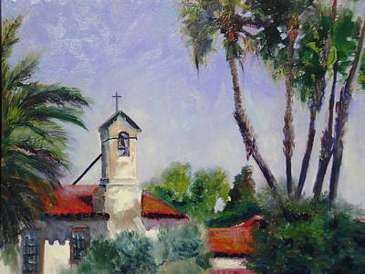 Painting - Mission San Juan Capistrano by Luz Perez