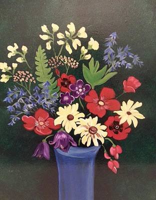 Painting - Mixed Bouquet by Nikki Dalton