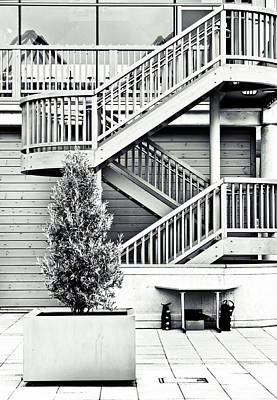 Of Stairs Photograph - Modern Architecture by Tom Gowanlock
