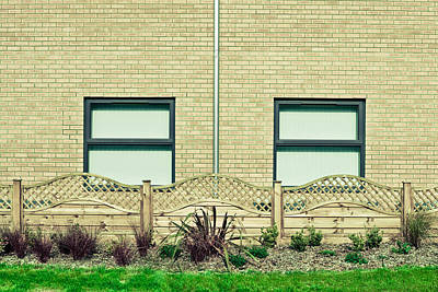 Brick Buildings Photograph - Modern Building by Tom Gowanlock