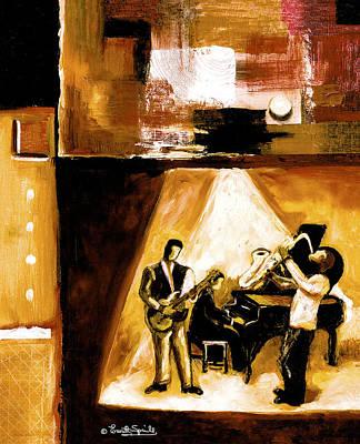 Modern Jazz Number One Art Print