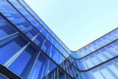 Photograph - Modern Office Architecture by Mf-guddyx