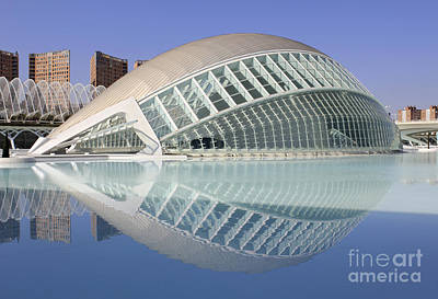 The Hemisferic In Valencia Spain Art Print