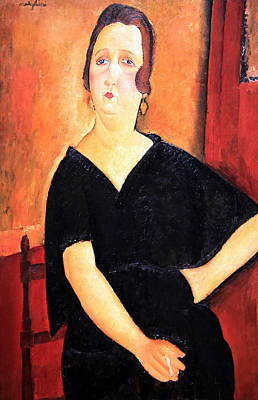 Amadeo Modigliani Photograph - Modigliani's Madame Amedee -- Woman With Cigarette by Cora Wandel