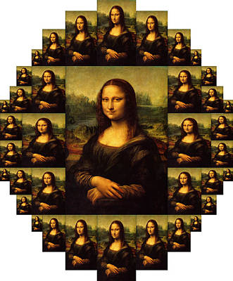 Painting - Mona Lisa by Moshfegh Rakhsha