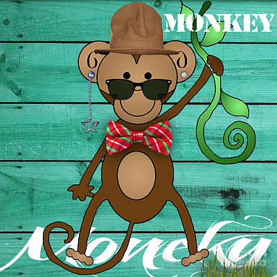 Monkey Business Collection Print by Marvin Blaine
