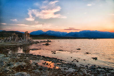 Photograph - Mono Lake Sunset by Cat Connor
