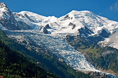 Abstract Graphics - Mont Blanc by Elijah Weber